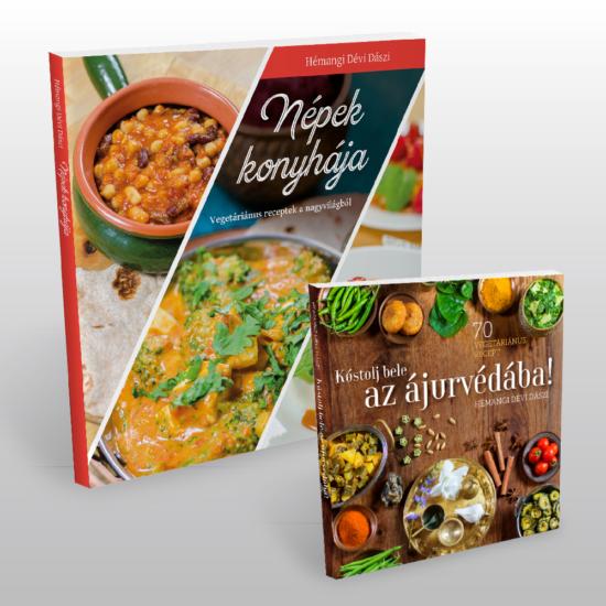 Népek konyhája + Kóstolj bele az ájurvédába könyvcsomag