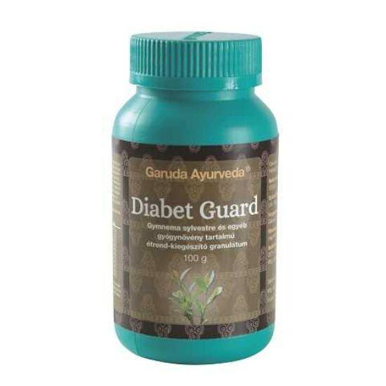 Garuda Ayurveda Diabet Guard granulátum cukorbetegség megelőzésére, kezelésére 100g