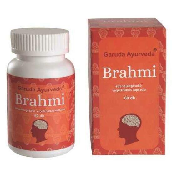 Garuda Ayurveda Brahmi vegán kapszula a mentális funkciók javítására 60db