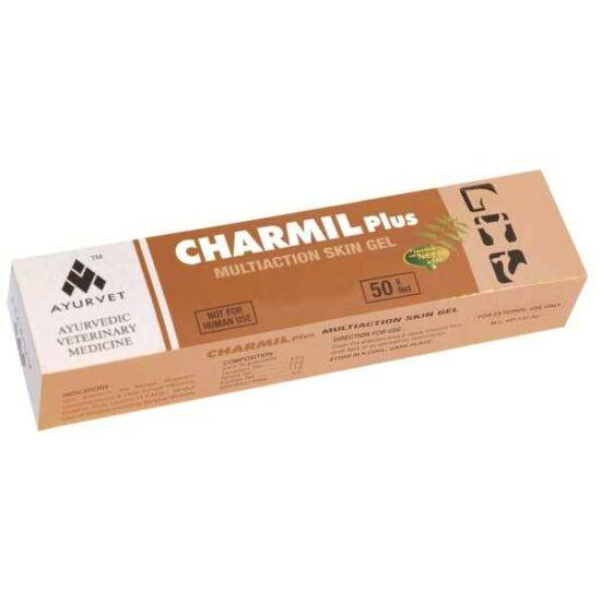 Charmil Plus gyógynövényes sebgyógyító, hámosító hatású gél 50g