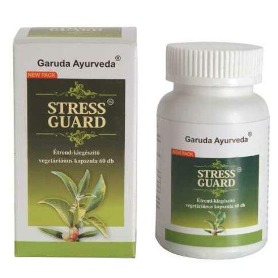 Garuda Ayurveda Stress Guard vegán kapszula a stressztűrő képesség fokozására 60db